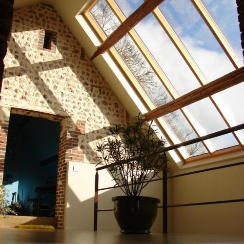 verrière de toit fixe - nos réalisations | atelier bailleul